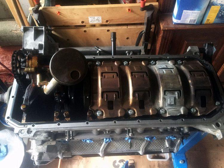 BMW E28 m20b20 to m52b28 swap